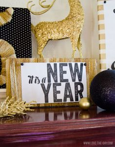 New Years Craft with Make It Fun Foam