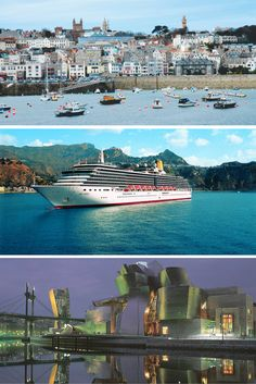Last minute getaway deal P&O Cruises' Western Europe, 6 night, EX-UK cruise from ONLY Last Minute Getaways, P&o Cruises, Cruise Holidays, Marina Bay Sands, Westerns, Europe, Night, World, Building