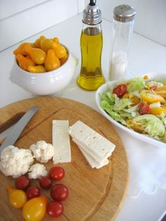 Salad with cheese Feta. Feta, Dairy, Salad, Cheese, Life, Salads, Lettuce