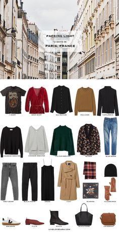 What to Pack for a Paris Honeymoon in Winter – livelovesara If you are wondering what to pack for a 12 day honeymoon to Paris, France in Winter you can see some ideas here. What to Pack for Paris Packing Light List Paris Packing, Packing List For Travel, Paris Travel, Vacation Packing, Packing Tips, Travel Checklist, Winter Travel Outfit, Winter Outfits, Winter Packing