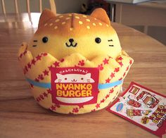 Nyanko Burger <3, I don't know what this is but I want it.