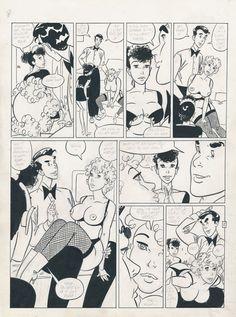 Matena, Dick - Originele pagina (p.2) - Rooie Oortjes - Het kamermeisje - (1994) - W.B.