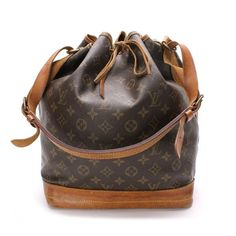 Louis Vuitton Noe  Monogram Shoulder bags Brown Canvas M42224