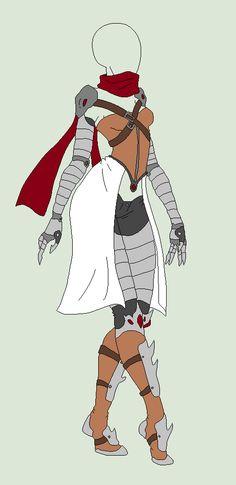 Outfit Adopt - Desert Warrior - SOLD by ShadowInkAdopts.deviantart.com on @deviantART