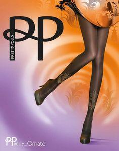 Pretty Polly O/S PP Ornate Tights