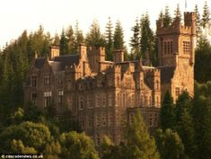 Stunning Highlands castle on sale for - but needs work Up for sale: Cardisdale Castle, near the Highland village of Culrain, is on the market for Abandoned Castles, Abandoned Mansions, Abandoned Places, Beautiful Castles, Beautiful Buildings, Beautiful Places, Scottish Castles For Sale, Palaces, Chateau Medieval