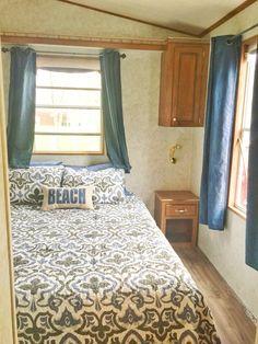 Bedroom remodel nautical trailer remodel