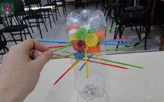 Juegos con reciclaje - botellas plásticas