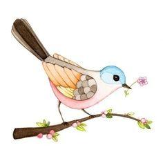 For Baby Nursery Bird Print Bird Painting Bird Wall Art Wall Art for Desenho Kids, Vogel Illustration, Funny Bird, Bird Wall Art, Nursery Room Decor, Bird Nursery, Nursery Ideas, Art Prints For Sale, Bird Drawings