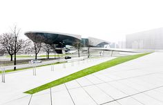 BMW-WELT AND BMW-MUSEUM>> there is something really intriguing about this rendering.
