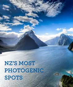 A guide to the best photographic spots in New Zealand - Milford Sound, the Far North, Rotorua and many more.
