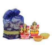 Diwali Dry fruits with Laxmi Ganesh Idol Ganesh Idol, Ganesha, Corporate Diwali Gifts, Online Gifts, Free, Ganesh