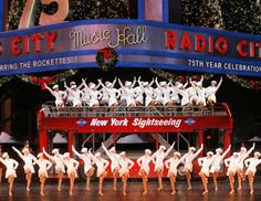Radio City Music Hall to see the Rockettes Christmas Show!