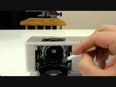 Cleaning your Bernina Sewing Machine