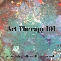 As an Art Therapist I am often met with the comment about how therapeutic art-making can be. It is also not the same as Art Therapy. Art Therapy Projects, Art Therapy Activities, Counseling Activities, Art Projects, Therapy Ideas, Play Therapy, Art Therapy Directives, Creative Arts Therapy, Expressive Art