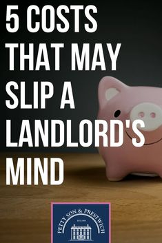 Read about 5 Costs That May Slip A Landlord's Mind. Petty Son updates you regularly with anything and everything that's happening around you. Income Property, Investment Property, Rental Property, Investing Money, Real Estate Investing, Mortgage Payment, Real Estate Tips, Dave Ramsey, Baby Steps