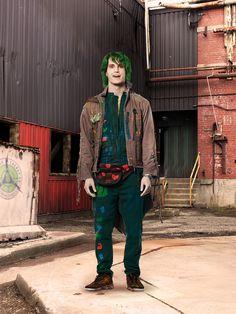 Bonzo is a zombie who is Zed's other friend in the DCOM, Zombies. Disney Channel Movies, Disney Channel Original, Disney Channel Stars, Disney Films, Original Movie, Disney Love, Disney Magic, Disney Stuff, Emilia Mccarthy