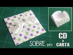 YouTube Big Shot, Diy And Crafts, Scrap, Gift Wrapping, The Originals, Paper, Ideas Para, Handmade, Youtube