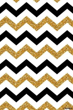 Black and white and gold patterns