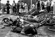 Jun 4, 1989: Tiananmen Square massacre takes place