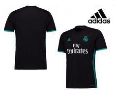 Consigue la camiseta de la segunda equipación del Real Madrid en tallas  para adultos y niños 2bcbfe058dfad