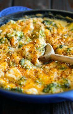 Damn Delicious Broccoli Quinoa Casserole