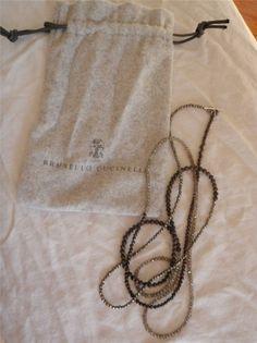 Brunello Cucinelli necklace/wrap bracelet 2013
