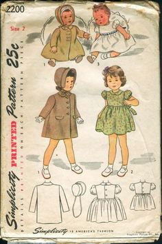 1950s childrens clothes - Google Search