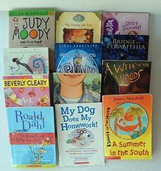 Mixed Lot of 12 Chapter Books Cleary Dahl Clements Paterson Disney McDonald Etc