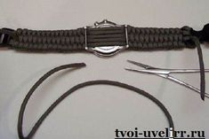 Woven Paracord Bracelet/watchband : 7 Steps (with Pictures) - Instructables Beaded Braclets, Hemp Bracelets, Paracord Bracelets, Bracelets For Men, Survival Bracelets, Paracord Watch, Paracord Knife, Paracord Braids, Paracord Projects