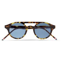 Thom BrowneRound-Frame Acetate Sunglasses