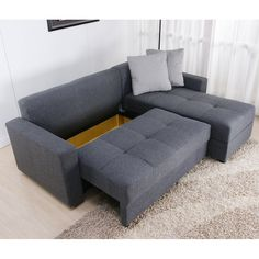 Superior Walmart: Small Spaces Configurable Sectional Sofa, Multiple Colors: Black  (shown), Brown, Grey, Beige $349 | Waiting Room | Pinterest | Small Spaces,  Spaces ...
