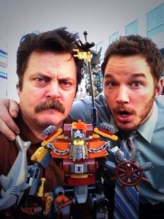 Nick Offerman & Chris Pratt