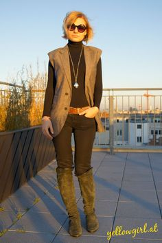 DIY Gilet from Men's Suit Jacket - yellowgirl