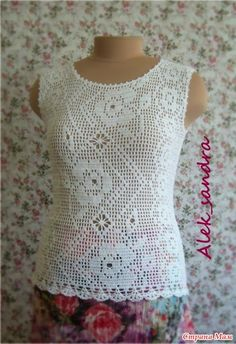 CROCHET CANDY: blouse