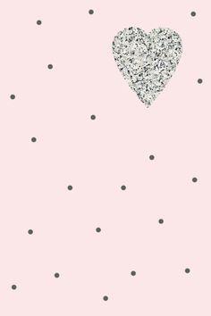Pale pink rose granite heart spots iphone wallpaper background phone  lock screen