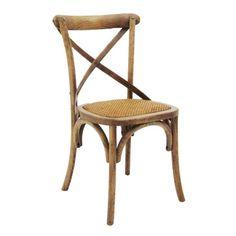 Cadeira Sala de Jantar Firenze Castanho Claro