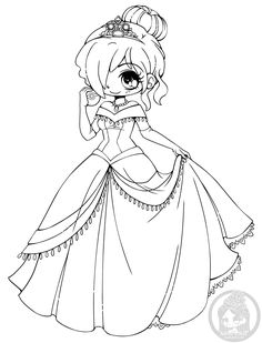 Coloriage Personnage Chibi Et Manga Adult Coloring Page