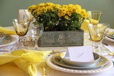 PARA ALEGRAR O ALMOÇO | Anfitriã como receber em casa, receber, decoração, festas, decoração de sala, mesas decoradas, enxoval, nosso filhos