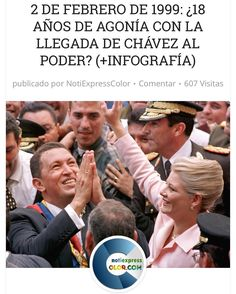Ya hace 18 años de la llegada de Chavez en el Poder