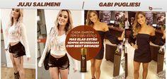 Além de lindas, a Juju Salimeni e a Gabi Pugliesi estão sempre da cor do pecado!   Graças ao Best Bronze, é claro.  www.bestbronze.com.br