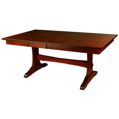 The Wasilla Trestle Table Is A Contemporary Trestle Table That Can Seat Up  To 12.