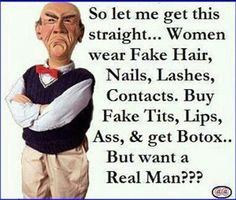 Want real man? :) / Walter by Jeff Dunham Thats The Way, That Way, Funny Cartoons, Funny Jokes, Sarcastic Humor, Funny Cartoon Pictures, Funny Pics, Twisted Humor, Adult Humor