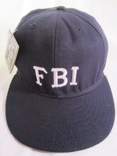 FBI Snap Back Ball Cap Embroidered Logo USA Made NWT  #ballcaps #greathats #hats