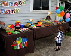 Dump Truck Birthday Party Ideas | Photo 10 of 16 | Catch My Party