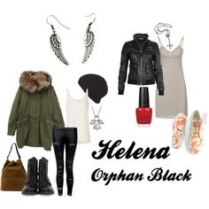 Orphan Black - Helena, created by vegemiter on Polyvore