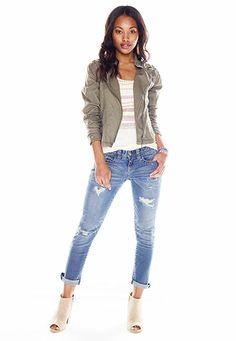 laser cut lightweight jacket - maurices.com