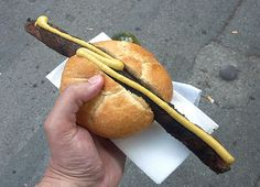 coburger bratwurst:  Mustard and Brochen