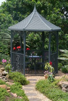 Picture of Roof Lace, Outdoor Victorian Trim, Gazebo Trim