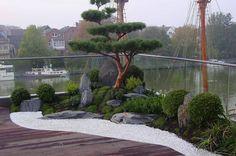 Zengarten auf Dachterrasse (von japan-garten-kultur)